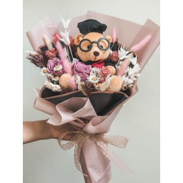 Graduation Bear Bouquet II