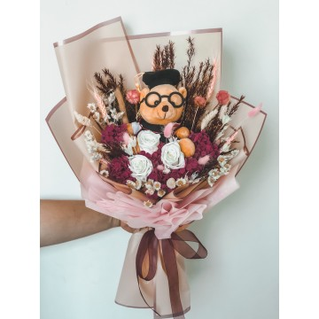 Graduation Bear Bouquet 3