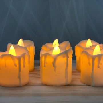 6 Tealight Candle Set